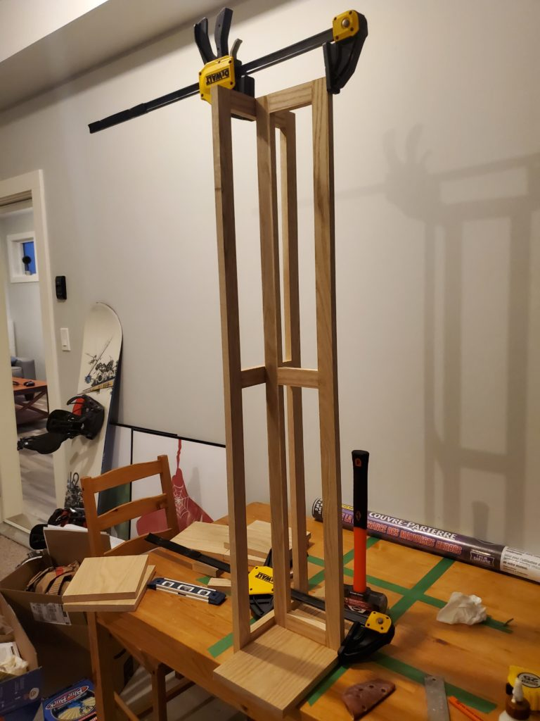 woodworking plant stand diy