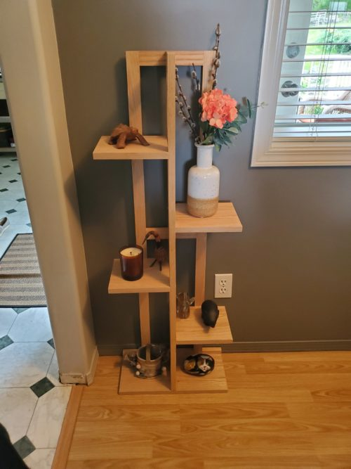 plant stand diy woodworking