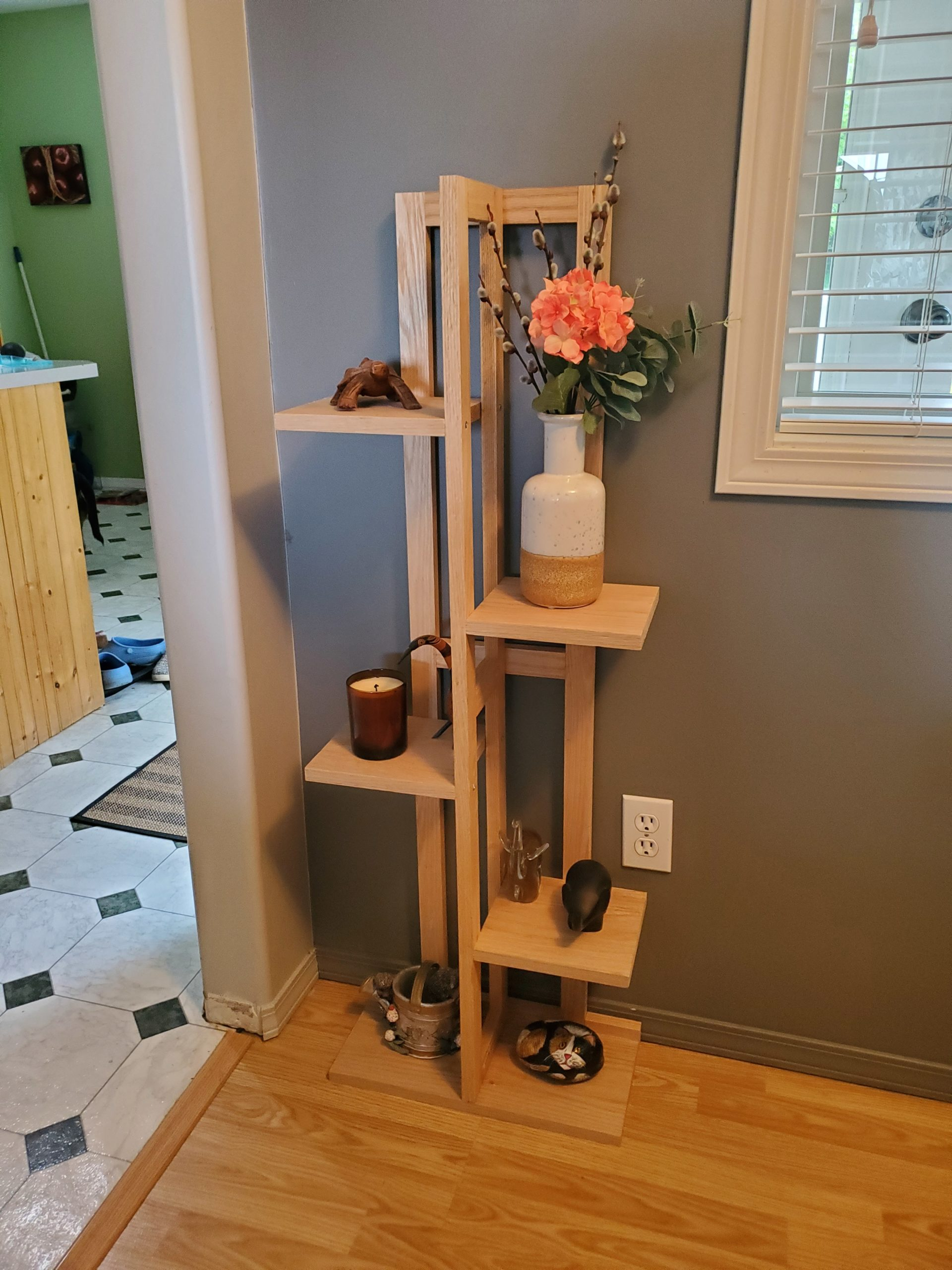 plant stand woodworking