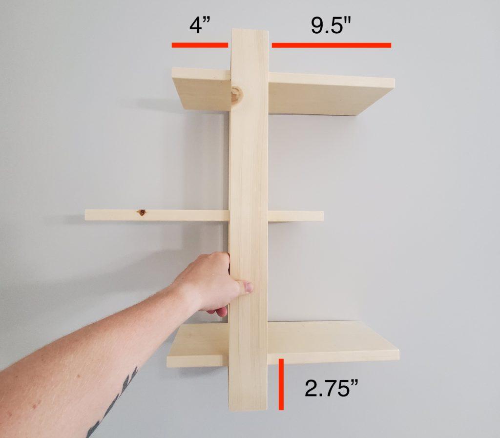 Wall Shelf Dimensions